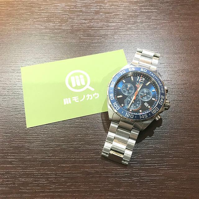 谷町六丁目のお客様からタグホイヤーの腕時計【フォーミュラ1】を買取_01