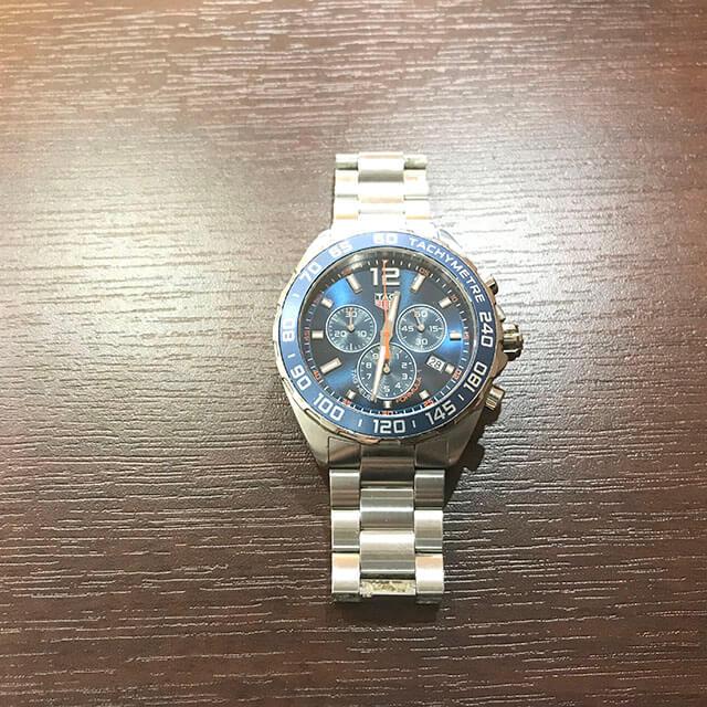 谷町六丁目のお客様からタグホイヤーの腕時計【フォーミュラ1】を買取_02