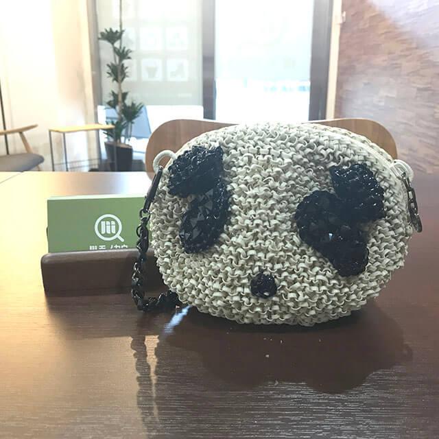 鶴橋のお客様からアンテプリマのショルダーバッグ【マニアーレ(パンダ)】を買取_01