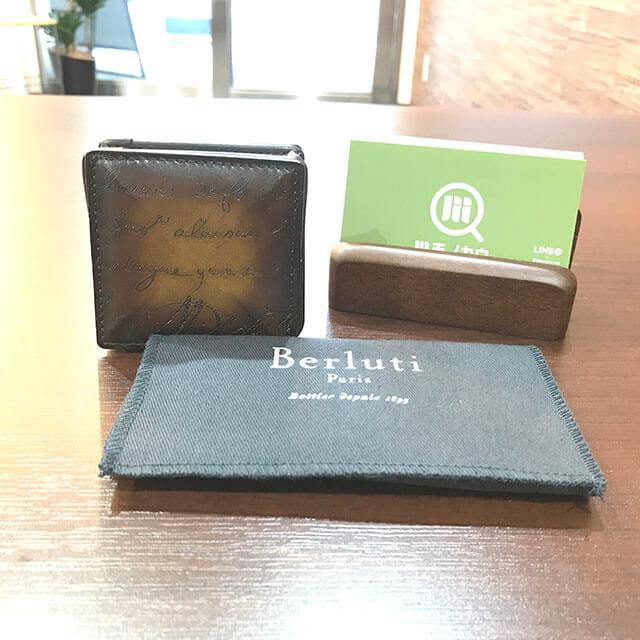 大阪のお客様からベルルッティのカリグラフィのコインケース【KHAYA(カヤ)】を買取_01