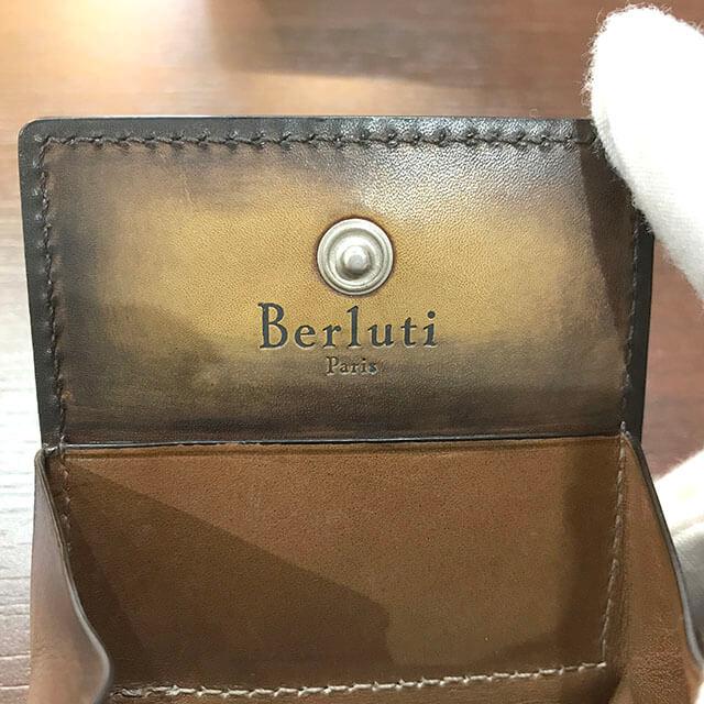 大阪のお客様からベルルッティのカリグラフィのコインケース【KHAYA(カヤ)】を買取_02
