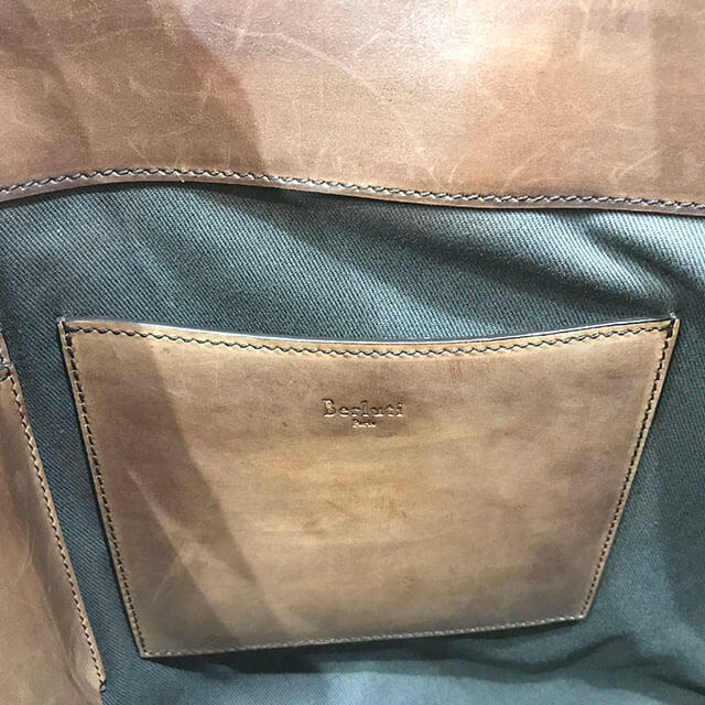 大阪のお客様からベルルッティのトートバッグ【トゥジュール】を買取_04