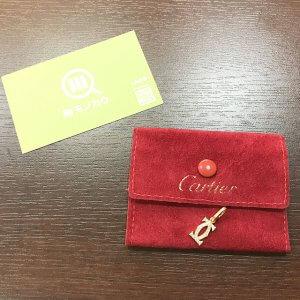 大阪のお客様からカルティエの2Cロゴダイヤネックレストップを買取