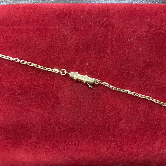 今里のお客様からカルティエのネックレス【リンクスレーブ】を買取_04