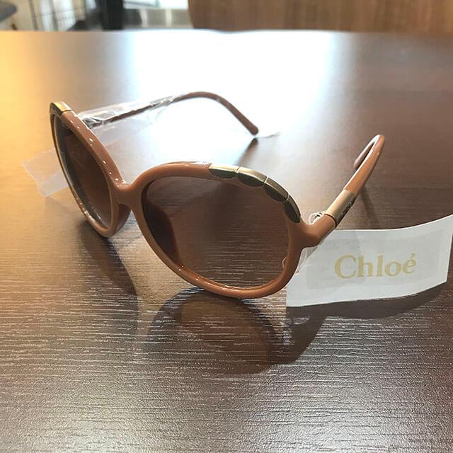 花巻のお客様からクロエのサングラスを買取_02