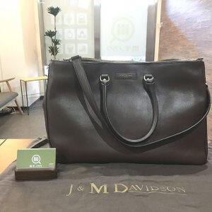 天王寺のお客様からJ&M DAVIDSON(ジェイアンドエムデヴィッドソン)のトートバッグを買取