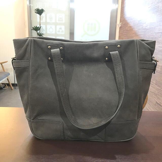 茨木のお客様からロエベのアナグラム2wayバッグを買取_02
