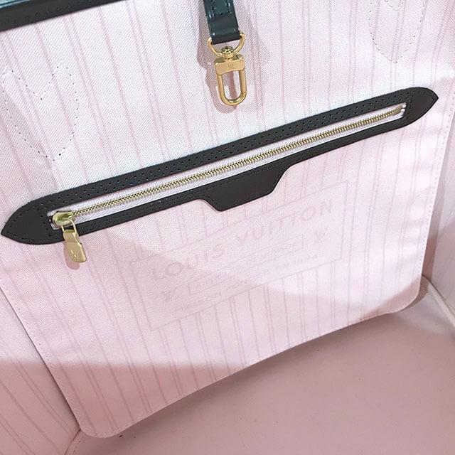 網走のお客様からヴィトンのダミエのバッグ【ネヴァーフルMM】を買取_03