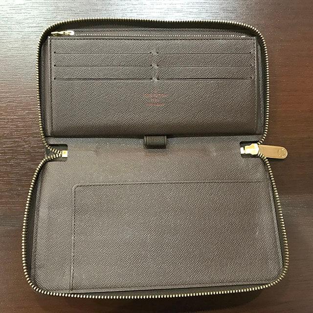 和泉のお客様からヴィトンのダミエの財布【ジッピーオーガナイザー】を買取_02