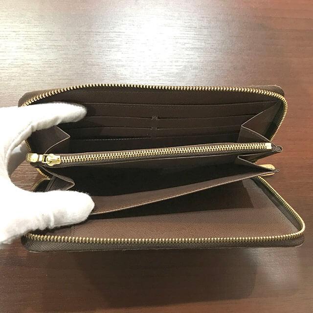 和泉のお客様からヴィトンのダミエの財布【ジッピーオーガナイザー】を買取_03
