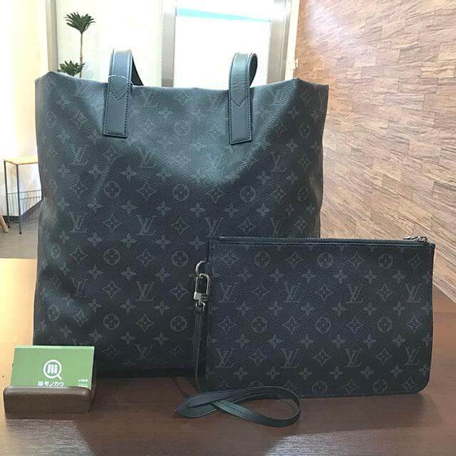 大阪のお客様からヴィトンのエクリプスのバッグ【カバ・ライト】を買取_01