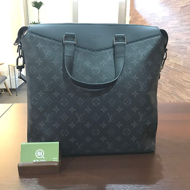 和泉のお客様からヴィトンのモノグラムエクリプスのバッグ【エクスプローラー】を買取_01