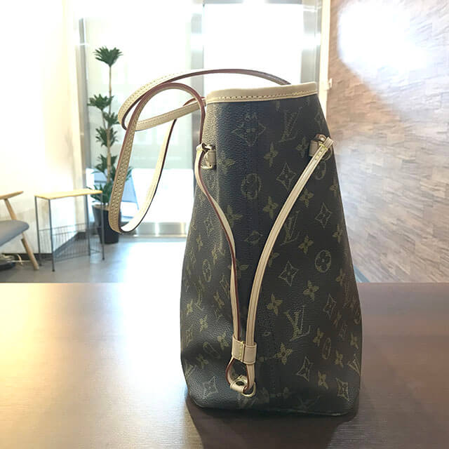 玉造のお客様からヴィトンの人気バッグ【ネヴァーフルMM】を買取_02