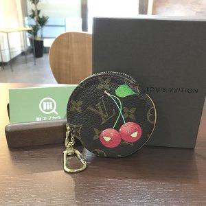 花巻のお客様からヴィトンのモノグラムチェリーの財布【ポルトモネ・ロン】を買取