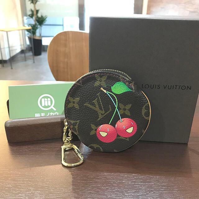 花巻のお客様からヴィトンのモノグラムチェリーの財布【ポルトモネ・ロン】を買取_01