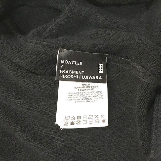 大阪のお客様からMONCLER(モンクレール)×FRAGMENT(フラグメント)のメンズパーカーを買取_04