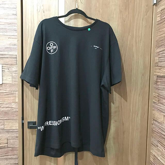 大阪のお客様からOff-White(オフホワイト)の【19SS IMPRESSIONISM Tシャツ】を買取_01