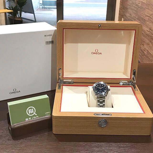 高円寺のお客様からオメガの腕時計【シーマスター プラネットオーシャン】を買取_02