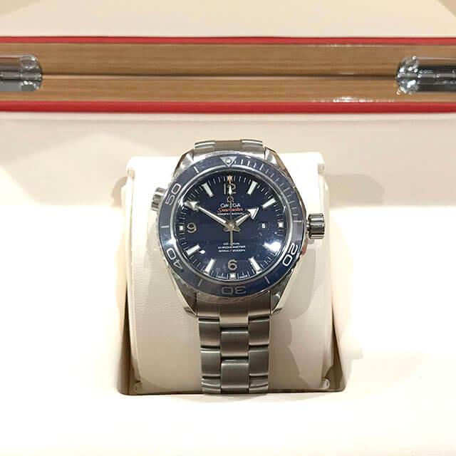 高円寺のお客様からオメガの腕時計【シーマスター プラネットオーシャン】を買取_03