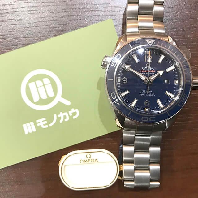 高円寺のお客様からオメガの腕時計【シーマスター プラネットオーシャン】を買取_01