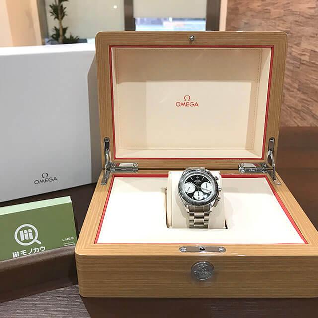 高円寺のお客様からオメガの腕時計【スピードマスター レーシングクロノ】を買取_02