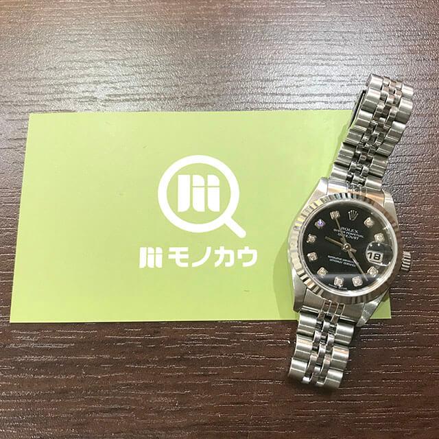 今里のお客様からロレックスの腕時計【デイトジャスト】を買取_01