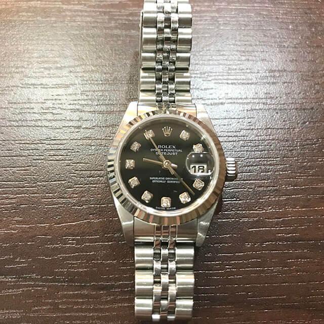 今里のお客様からロレックスの腕時計【デイトジャスト】を買取_02