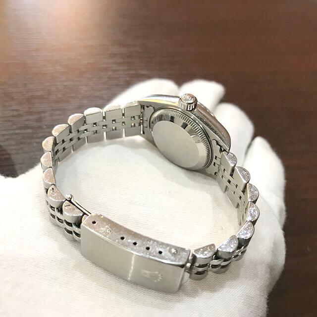今里のお客様からロレックスの腕時計【デイトジャスト】を買取_03