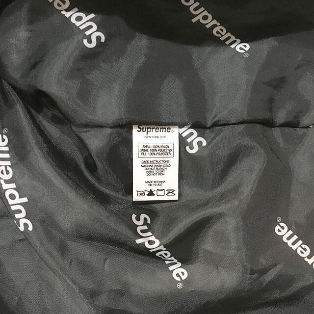 堺東のお客様からSupremeの17AW【Hooded Logo Half Zip Pullover 迷彩柄 パーカー】を買取_04