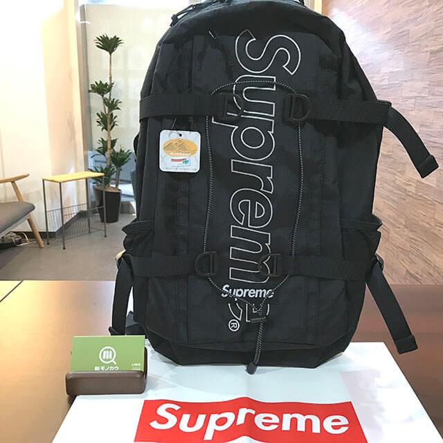 花巻のお客様からSupreme(シュプリーム)の18FWバックパックを買取_01