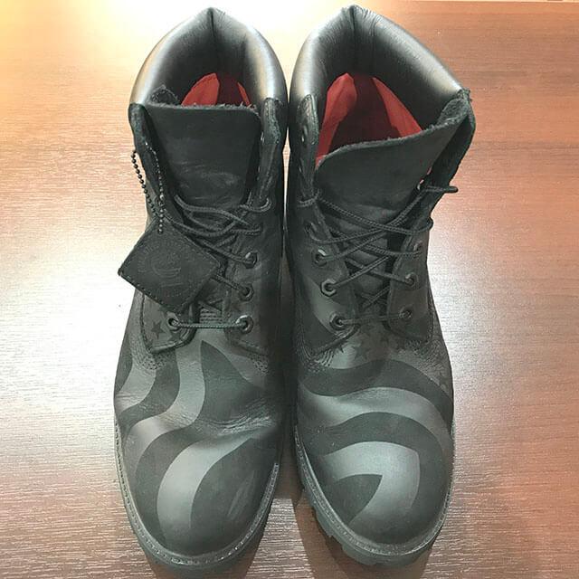 大阪のお客様からSupreme×Timberlandの17AWブーツ【Stars and Stripes 6-inch Premium Boot】を買取_02