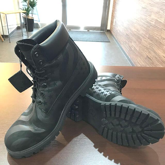 大阪のお客様からSupreme×Timberlandの17AWブーツ【Stars and Stripes 6-inch Premium Boot】を買取_03