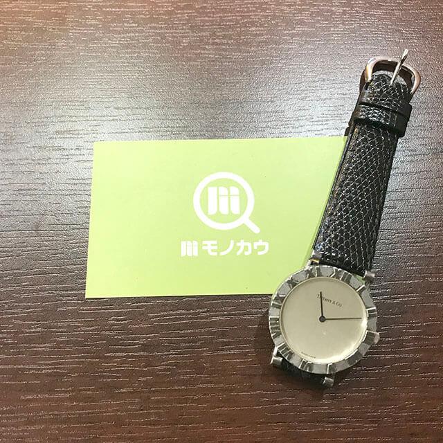 天王寺のお客様からティファニーのメンズ腕時計【アトラス】を買取_01