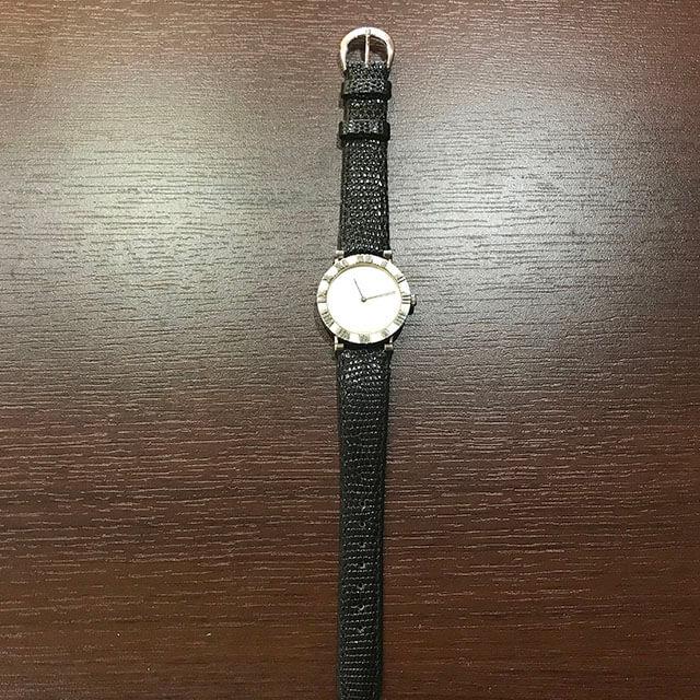 天王寺のお客様からティファニーのメンズ腕時計【アトラス】を買取_03