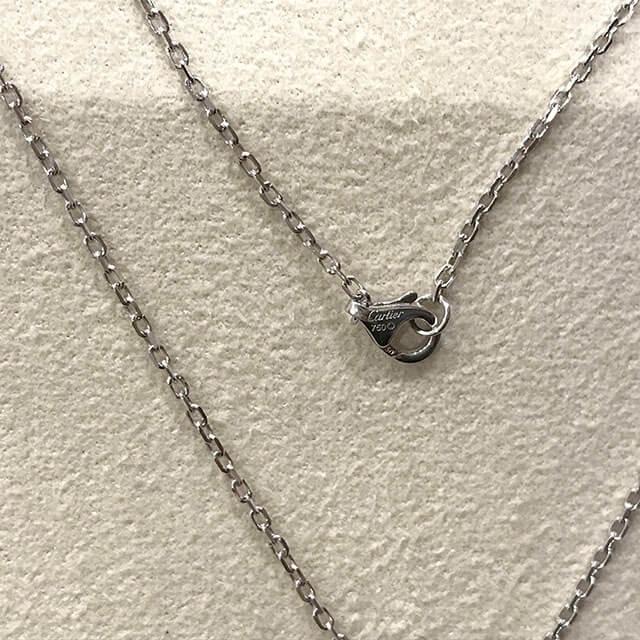 東大阪のお客様からカルティエのCハートフルダイヤネックレスを買取_04