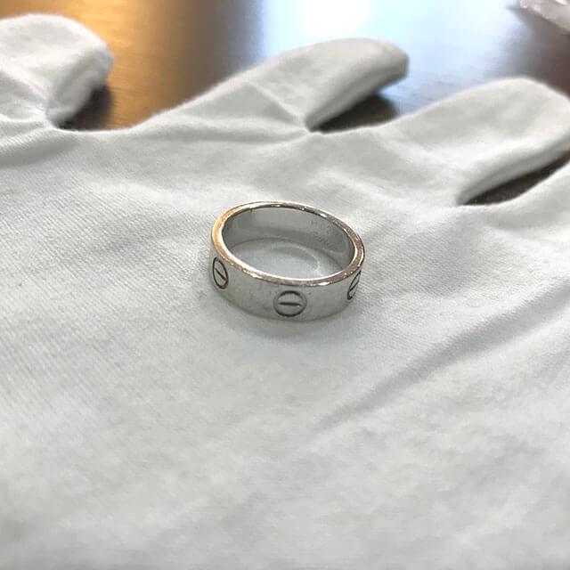 大阪のお客様からカルティエの指輪【ラブリング】を買取_04