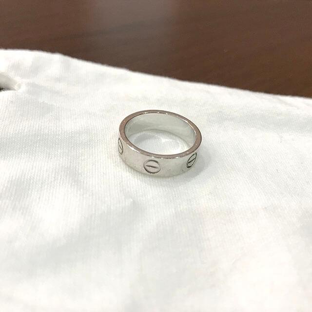 大阪のお客様からカルティエの指輪【ラブリング】を買取_03