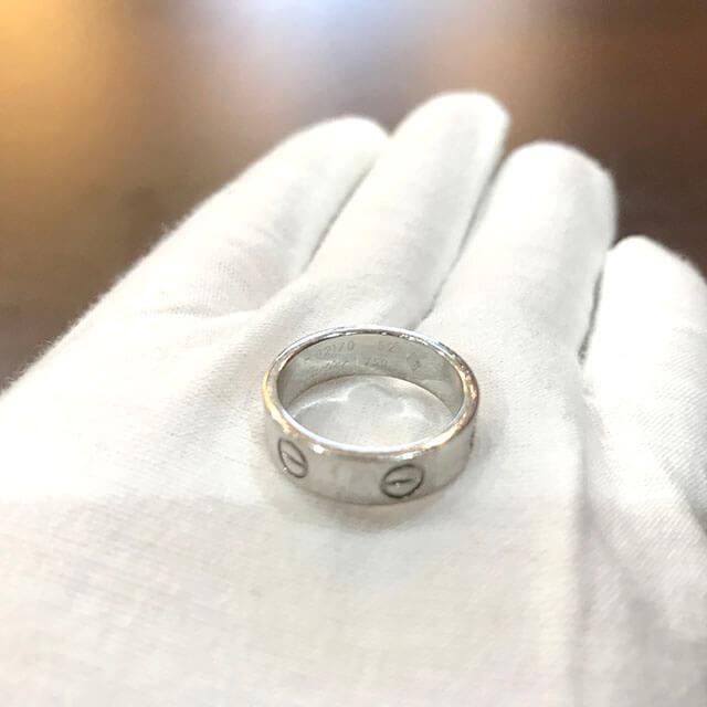 大阪のお客様からカルティエの指輪【ラブリング】を買取_02