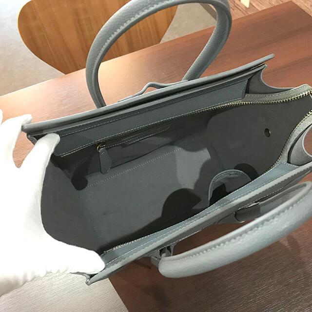 天王寺のお客様からセリーヌのラゲージバッグ【マイクロショッパー】を買取_03