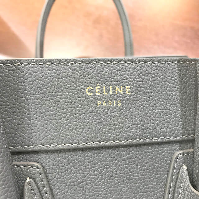 天王寺のお客様からセリーヌのラゲージバッグ【マイクロショッパー】を買取_04