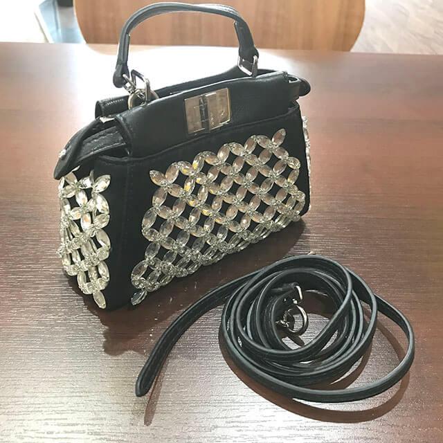 深江橋のお客様からフェンディのバッグ【マイクロピーカーブー】を買取_02