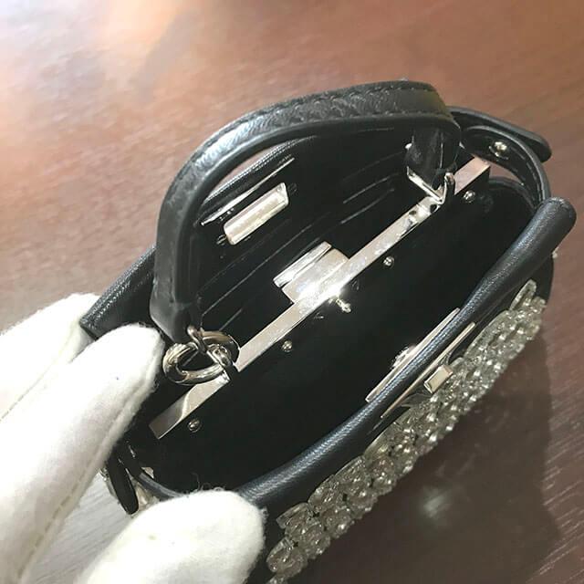 深江橋のお客様からフェンディのバッグ【マイクロピーカーブー】を買取_03