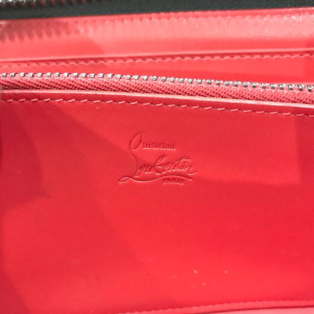 鶴橋のお客様からルブタンのスタッズ長財布を買取_04