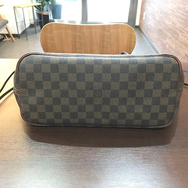 大阪のお客様からヴィトンのダミエトートバッグ【ネヴァーフルMM】を買取_03