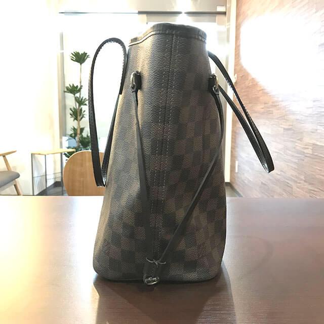 大阪のお客様からヴィトンのダミエトートバッグ【ネヴァーフルMM】を買取_02