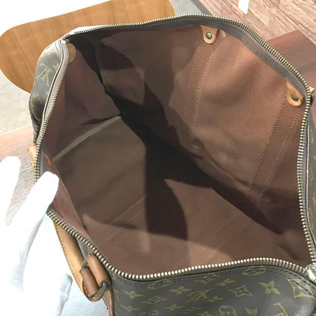中百舌鳥のお客様からヴィトンのボストンバッグ【キーポル50】を買取_03