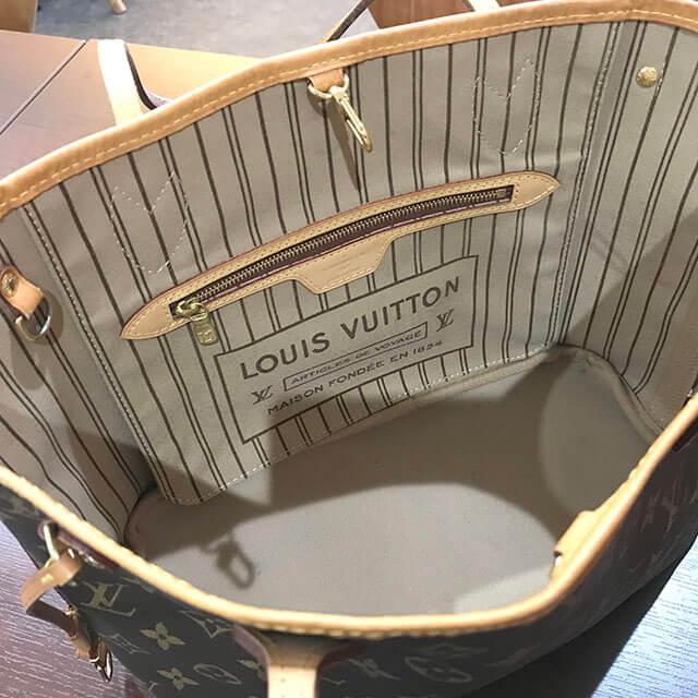 門真のお客様からヴィトンのトートバッグ【ネヴァーフルPM】を買取_03