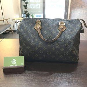 今福鶴見のお客様からヴィトンのハンドバッグ【スピーディ30】を買取