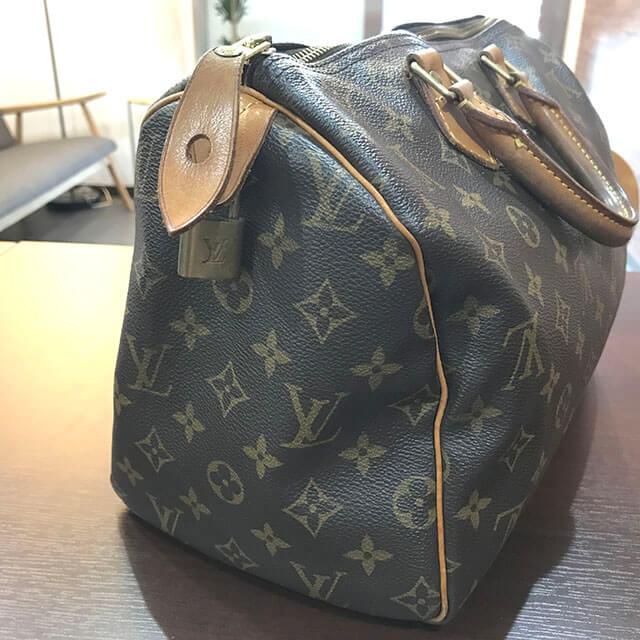 今福鶴見のお客様からヴィトンのハンドバッグ【スピーディ30】を買取_02