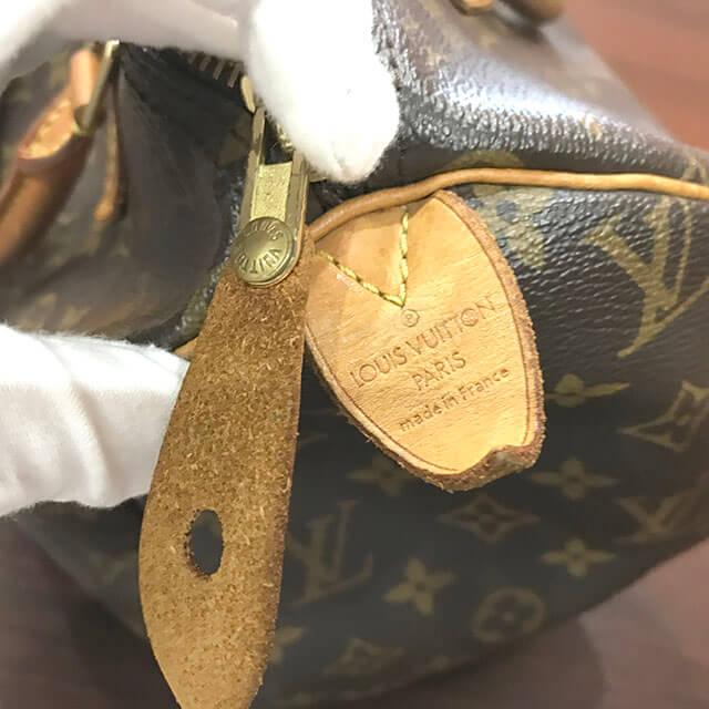 今福鶴見のお客様からヴィトンのハンドバッグ【スピーディ30】を買取_04